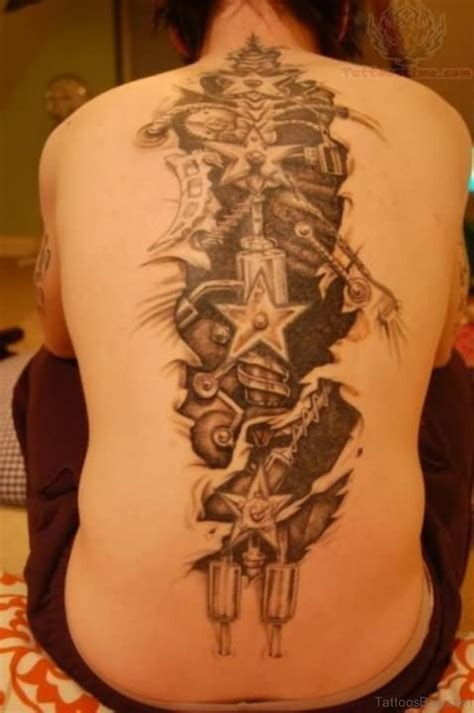 biomechanical back tattoo designs 84 amazing biomechanical tattoos on back