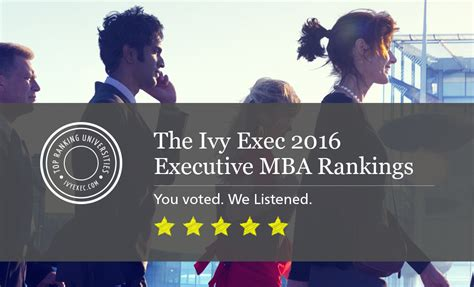 Mba Prospects 2016 by Executive Mba Rankings Best Emba Programs In 2016