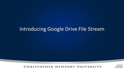drive file stream introducing google drive file stream youtube