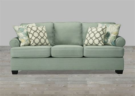seafoam leather sofa contemporary sofa in seafoam