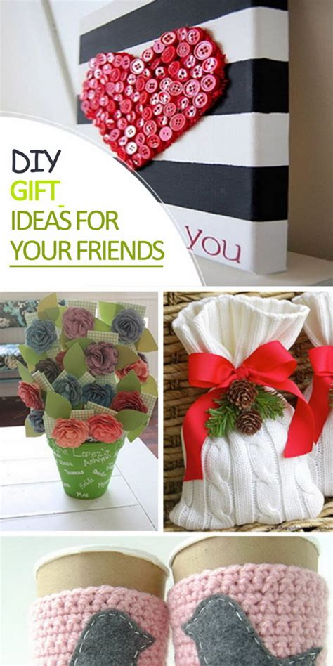 Handmade Presents Ideas - diy gift ideas for your friends hative