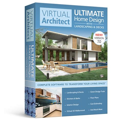 home design 7 0 virtual architect ultimate home design software with