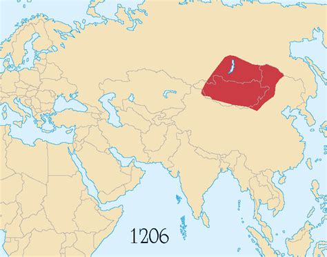 mongol empire map jbapwoh middle