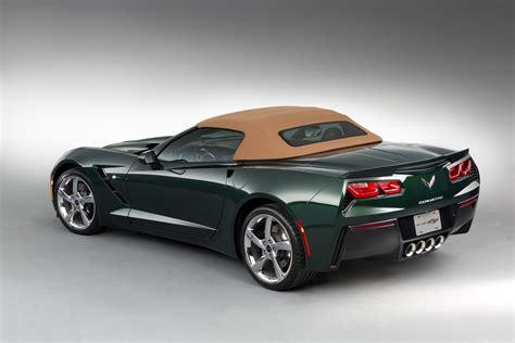 corvette stingray green official 2014 chevrolet corvette stingray convertible