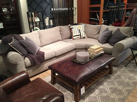 pottery barn sectional sofa reviews pottery barn pearce sofa reviews pearce upholstered 3