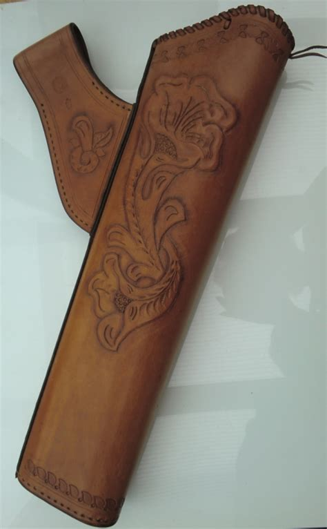 pattern quiver leather hip quiver carved h 229 ndv 230 rk l 230 der pinterest