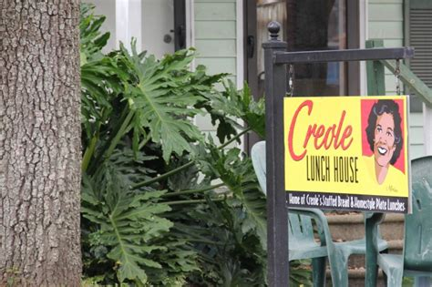 creole lunch house faces and places