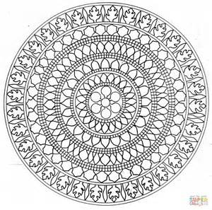 coloring mandalas 22 printable mandala abstract colouring pages for