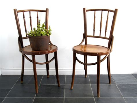 Bentwood Bistro Chair Vintage Bentwood Chair Two Wooden Cafe Bistro By Snapshotvintage