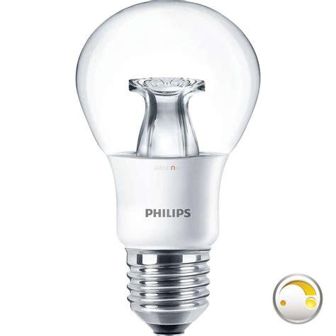 philips dimtone ledbulb dt 6w e27 a60 led 2200 2700k lumenet