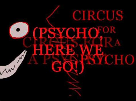 for a skillet circus for a psycho lyrics