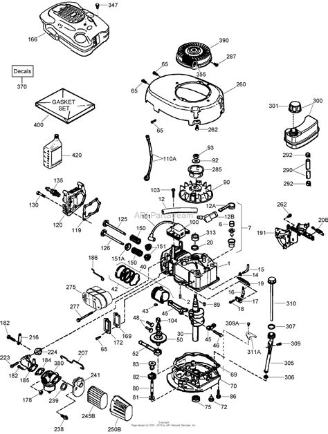 diagram of a lawn mower engine toro 20072 22in recycler lawn mower 2007 sn 270000001