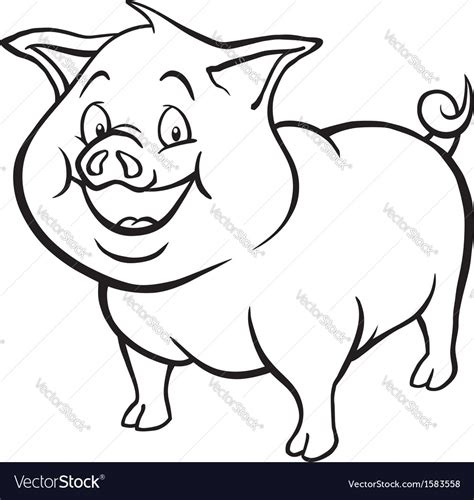 pig clipart black and white 15 black and white picture of a pig selection black and