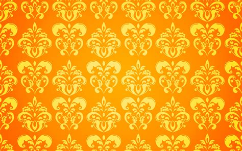 yellow indian pattern background yellow floral wallpapers group 52
