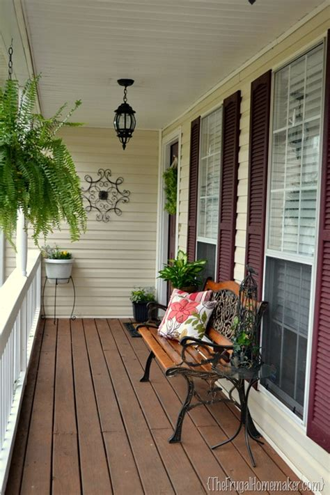 porch swing springs home depot front porch makeover sprucing up the outdoors for spring