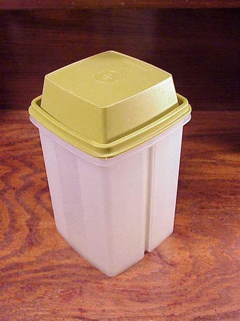 Tupperware Keeper vintage tupperware olive green pickle keeper holder