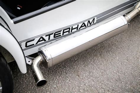 caterham exhaust caterham seven 270 review 2017 autocar