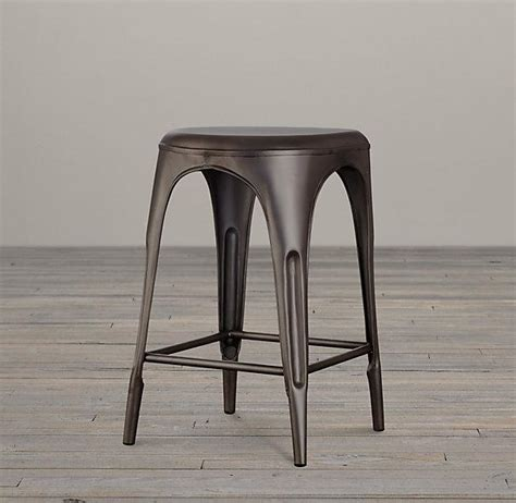 Restoration Hardware Remy Stool by Remy Backless Stool I Restoration Hardware