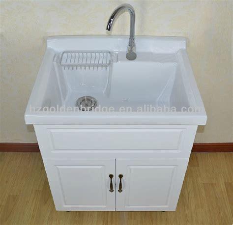 Kitchen Cabinets Stand Alone by Bac 224 Lessive Avec Armoire Ld01 Meuble Lavabo De Salle De