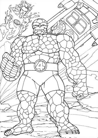 The Thing Coloring Page Free Printable Coloring Pages The Thing Coloring Pages