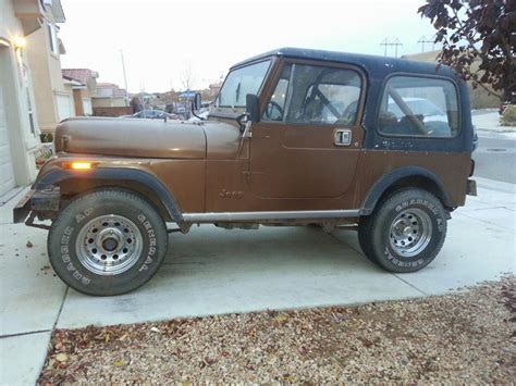 Jeep Cj7 Forum 1985 Jeep Cj7 Back On The Road Truestreetcars