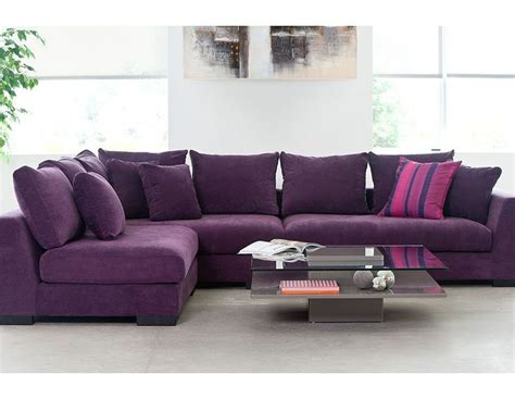 structube sofas structube living room sectional sofas cooper purple