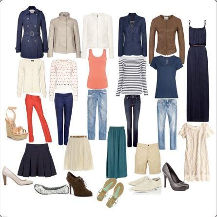 Travel Capsule Wardrobe Essentials by Style