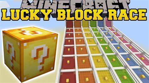 Minecraft Lucky Block Mod Game Online | minecraft insane lucky block race lucky block mod