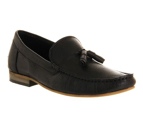 ask the missus loafers ask the missus pearce tassel loafer black leather casual