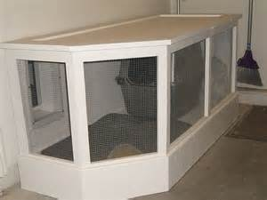 Garage Dog Kennel have your dogs kennel or your cats litter box in the