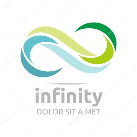 infinity s infinity logo business company corporate letter s vector