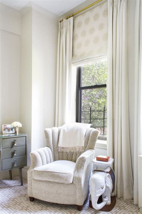 how mary layered roman blinds and curtains in her bedroom lilly bunn interiors