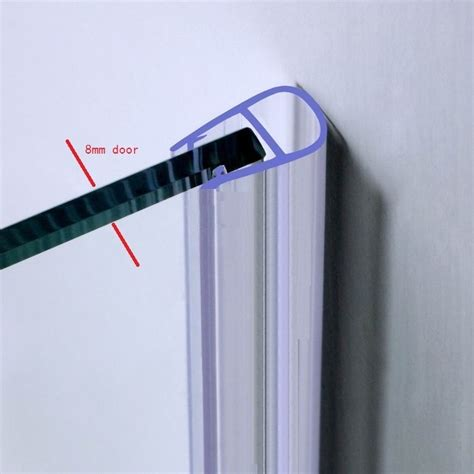 Plastic Strips For Shower Doors Ac006 Easy To Install Plastic Shower Door Seal Buy Plastic Shower Door Seal Shower