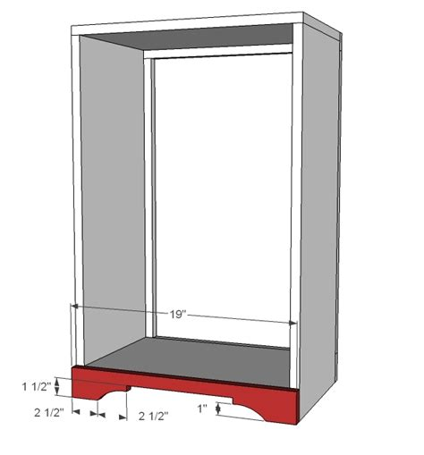 tilt out cabinet plans tilt out trash cabinet woodworking plans woodshop plans