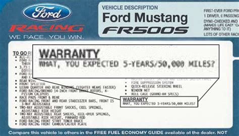 research maniacs ford window sticker