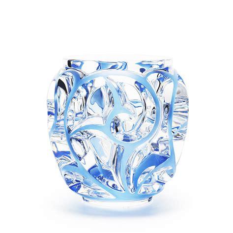 lalique vase pos 233 idon vase limited edition 99 pieces blue lavender
