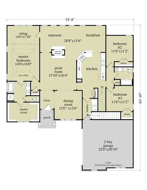 large images for house plan 163 1027 floor plan first story