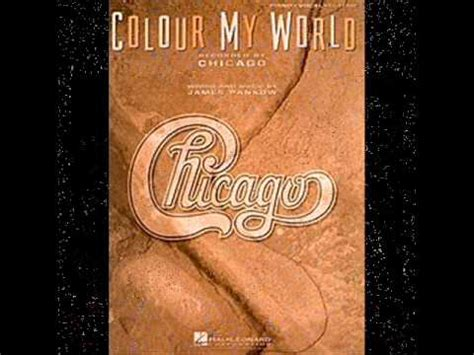 chicago color my world colour my world chicago