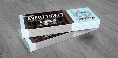 awesome ticket invitation design templates web