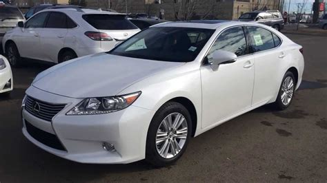 lexus white pearl 2014 lexus es 350 premium package review in white starfire