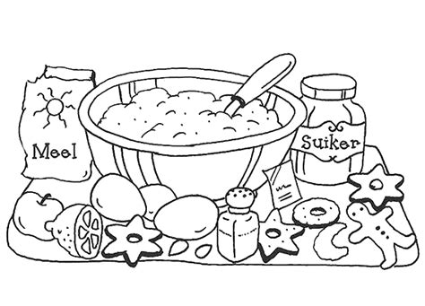 Cooking Coloring Page Kitchen And Cooking Coloring Pages Coloringpages1001 Com