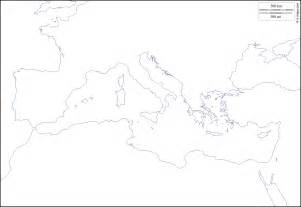 Blank Map Of The Mediterranean Region by Blank Map Mediterranean