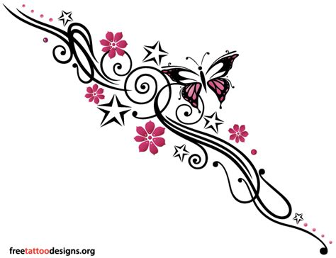 girly butterfly tattoo designs feminine tattoos designs for and