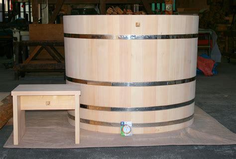 plunge bathtub cold plunge hinoki tub japanese ofuro bathtubs by bartok