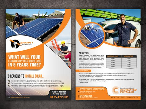 design flyers online australia modern professional flyer design for david russin by hih7