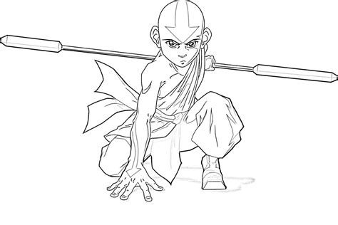 Avatar Coloring Pages by Craftoholic Avatar The Last Airbender Coloring Pages