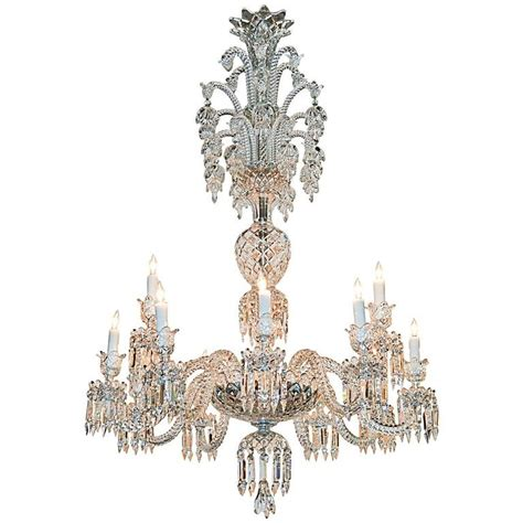 Baccarat Chandelier For Sale Gorgeous Large Scale Signed Baccarat Chandelier For Sale At 1stdibs