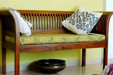 fabindia bench home sweet home