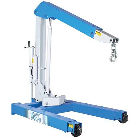 mobile floor otc 1813 mobile floor crane with hydraulic 6000