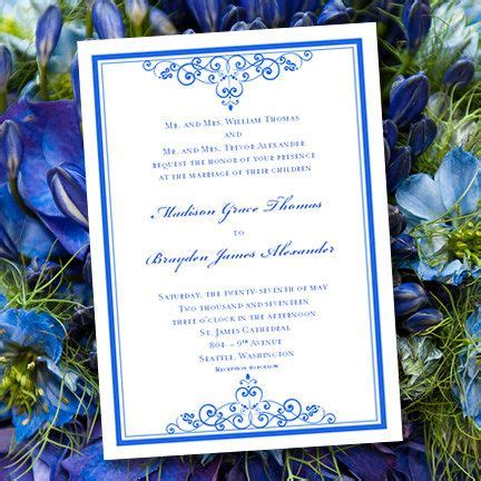 17 best ideas about royal blue weddings on pinterest